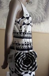 Kate Spade NY Flower Skipper Stripe Crossbody bag